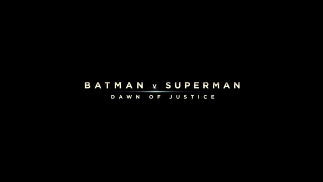 Batman v Superman: Dawn of Justice Trailer!